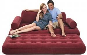 Sofá inflável: preços, modelos, onde comprar