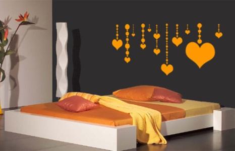 330217 Decoração com adesivos para quarto de casal 4 Decoração com adesivos para quarto de casal