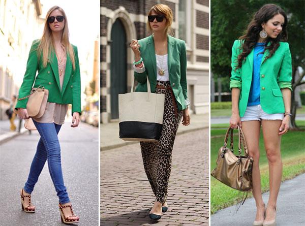 330786 blazer Verde Esmeralda – Tendência para o Verão 2012