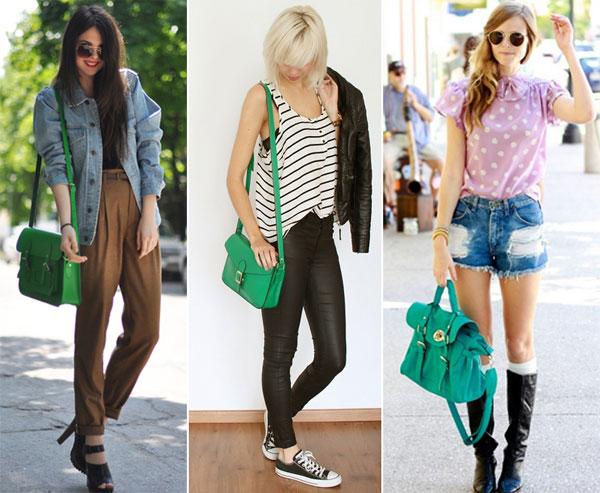 330786 bolsa Verde Esmeralda – Tendência para o Verão 2012
