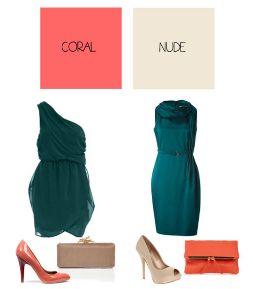330786 vestidos2 Verde Esmeralda – Tendência para o Verão 2012