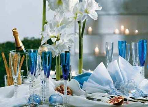 331682 Decoração de mesa para a ceia de ano novo 5 Decoração de mesa para a ceia de ano novo
