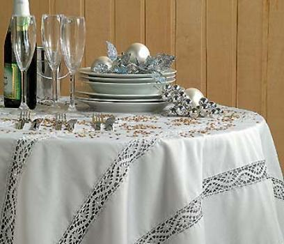 331682 Decoração de mesa para a ceia de ano novo 9 Decoração de mesa para a ceia de ano novo