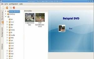 Crie filmes em DVD com menus interativos