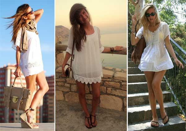 333482 amplo Vestidos Brancos para o Réveillon 2012