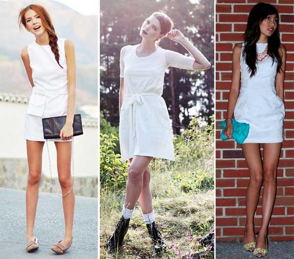 333482 cintura Vestidos Brancos para o Réveillon 2012