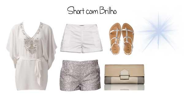 333513 brilho Looks com Shorts para o Réveillon 2012
