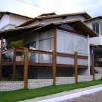 333787 casa moderna 150x150 Fachadas de madeira para casas