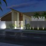 333787 madeira na fachada da um estilo diferenciado 150x150 Fachadas de madeira para casas
