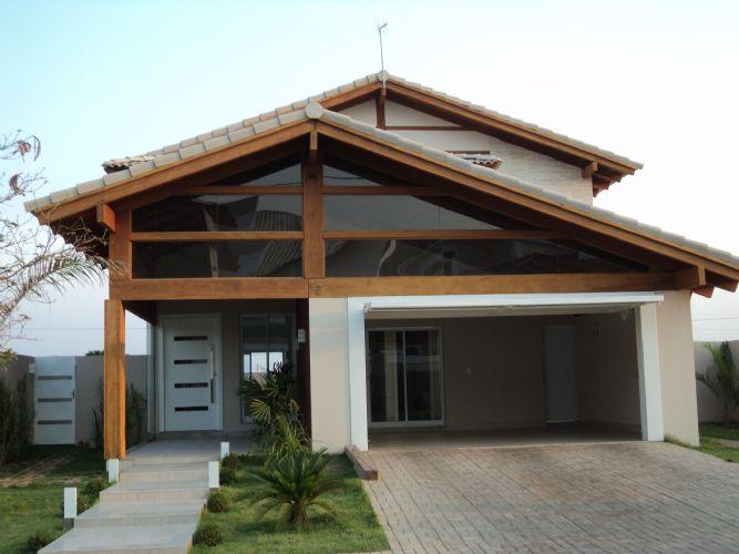 333787 madeiraevidro Fachadas de madeira para casas