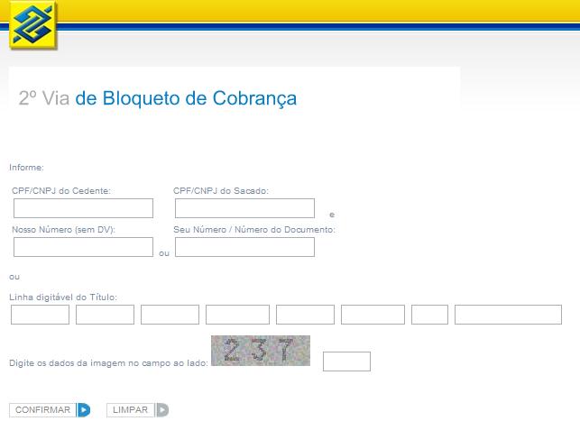 335145 2 via banco do brasil Saiba como atualizar boleto do Banco do Brasil