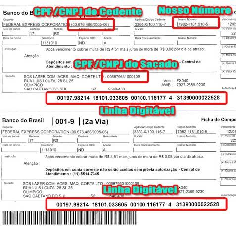 335145 boleto BB 2 via Saiba como atualizar boleto do Banco do Brasil