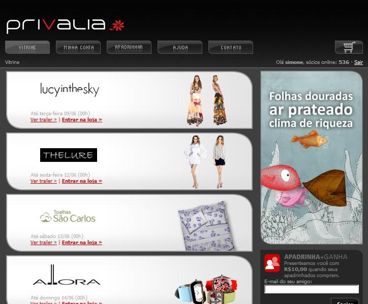 335532 loja de roupas online privalia 1 Loja de roupas online Privalia