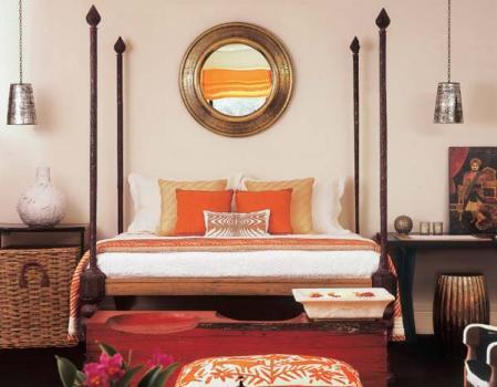 336589 Confira como decorar seu quarto em estilo indiano 5 Como decorar quarto em estilo indiano