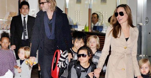 336628 Brad Angelina Fam%C3%ADlia Brad Pitt e Angelina Jolie querem adotar outra criança