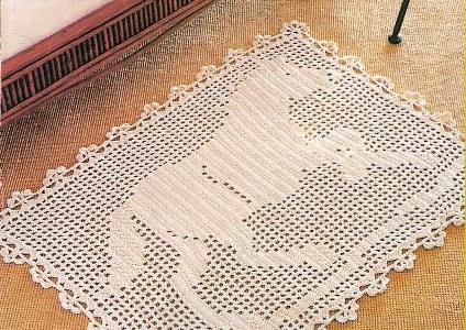 338152 Como fazer tapetes de crochê 1 Como fazer tapetes de crochê