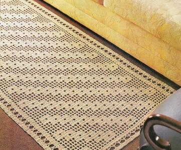 338152 Como fazer tapetes de crochê 2 Como fazer tapetes de crochê