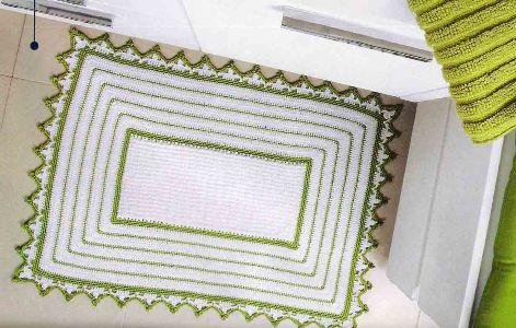 338152 Como fazer tapetes de crochê Como fazer tapetes de crochê