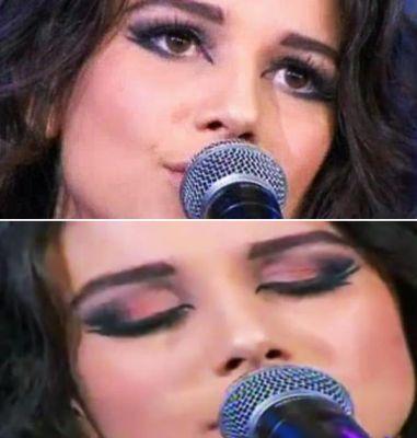 338173 paula1 Aprenda a fazer a maquiagem de Paula Fernandes