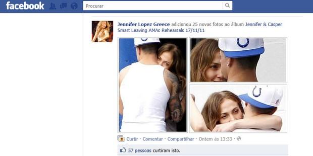 339864 lopez03 Jennifer Lopez é flagrada beijando bailarino