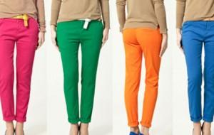 Calça Colorida: Tendência para o verão 2012