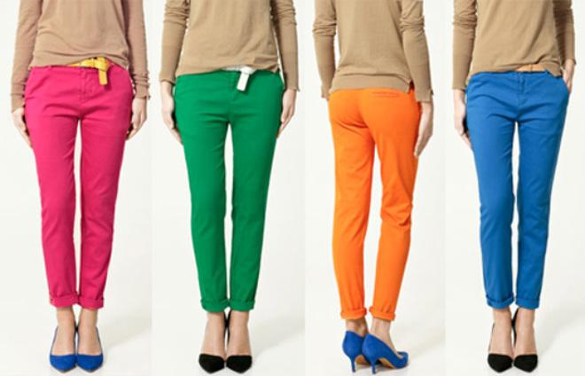 340303 pants1 Calça Colorida: Tendência para o verão 2012