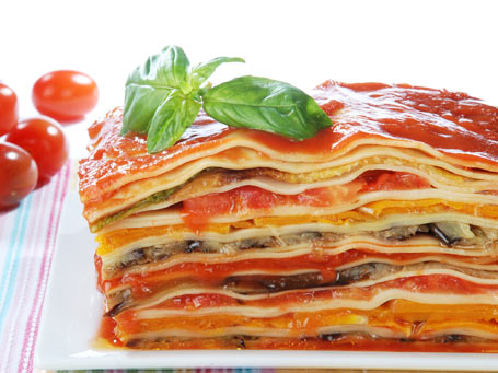 341097 cozinha lasanha vegetais apertura Receita de lasanha vegetariana