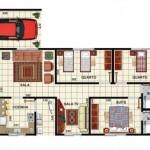 34115 Planta De Casas Com 3 Quartos 3 150x150 Planta De Casas Com 3 Quartos
