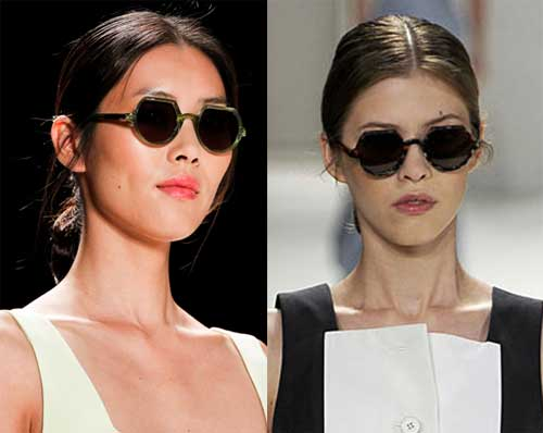 342623 carolina redondos Óculos Redondos: Tendência para o verão 2012