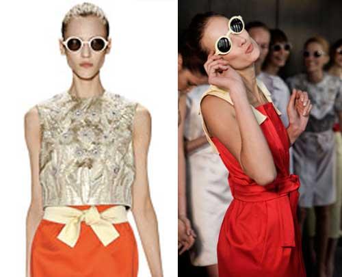342623 herchcovitch Óculos Redondos: Tendência para o verão 2012