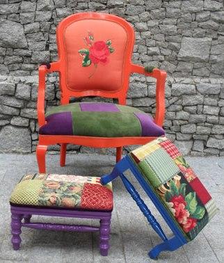 343770 Ideias criativas para customizar cadeiras 5 Ideias criativas para customizar cadeiras