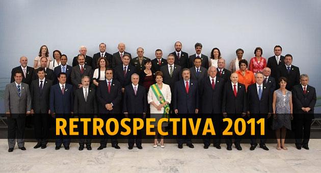 Ministros de Dilma Roussef que cairam durante o primeiro ano de governo
