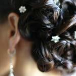 344615 penteado detalhe 150x150 Penteados para noivas   fotos