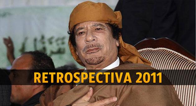 Revolução no poder: os ditadores que caíram em 2011