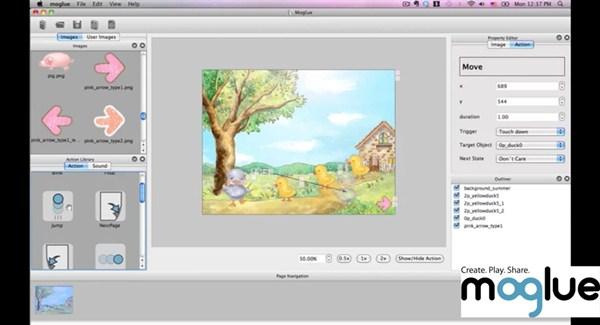 345015 mogluePCim1 Crie livros interativos para seus filhos assistirem no tablet