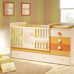 345783 berco bebe laranja micuna imagens 150x150 Decoração para quartos de bebê   fotos