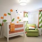 345783 quarto bebe verde laranja imagens 150x150 Decoração para quartos de bebê   fotos