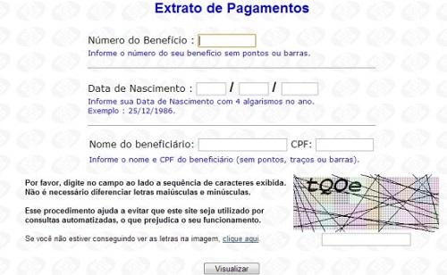 34634 Consulta Benefício Previdência Social 00002 Consulta Benefício Previdência Social