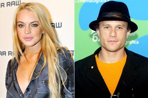 347051 lindsay lohan heath ledger Lindsay Lohan diz que Heath Ledger foi o amor de sua vida