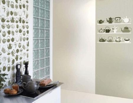 347514 Papel de parede para cozinha 4 Papel de parede para cozinha: fotos, dicas