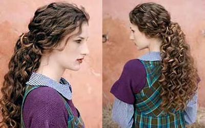347788 ondulado Passo a passo de penteados em cabelos ondulados