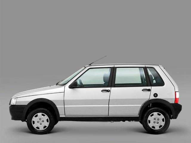 348249 fiat uno 4P Conheça os 10 carros mais roubados no Brasil