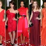 348495 Atrizes de vermelho 150x150 Vestidos de festa das celebridades   fotos