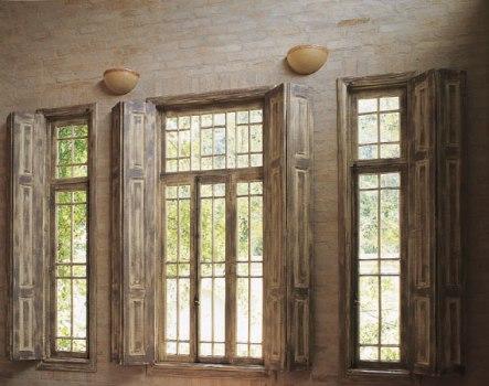 348721 Decoração com janela de madeira 7 Decoração com janela de madeira
