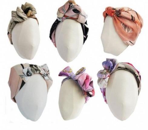 349128 segunda Dicas para usar lenço na cabeça