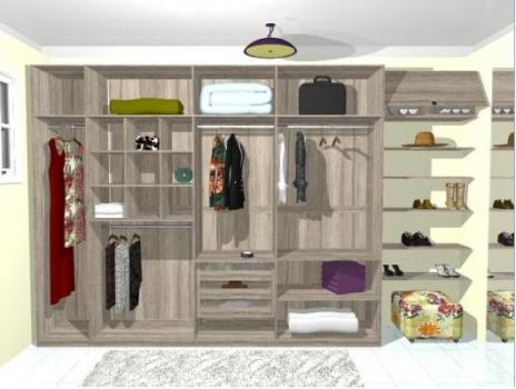 349761 Projetos de closets 1 Closets baratos   projetos e dicas