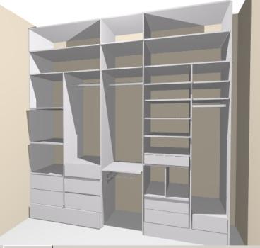 349761 Projetos de closets 4 Closets baratos   projetos e dicas