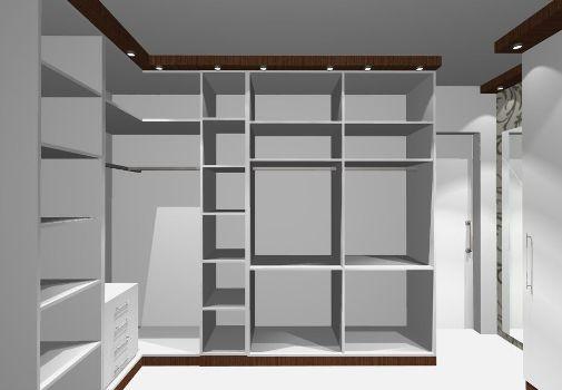 349761 Projetos de closets 5 Closets baratos   projetos e dicas
