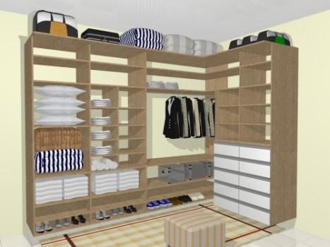 349761 Projetos de closets 6 Closets baratos   projetos e dicas