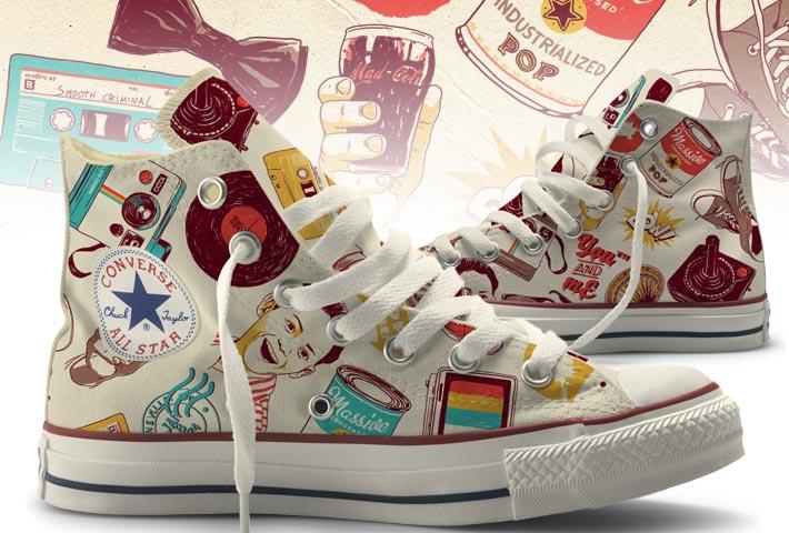 350557 03 Pop Pattern Promoção Converse Art Manifesto Zupi